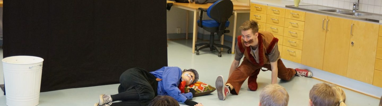 teater skola ungdomsverksamhet